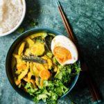 Thai csirkecurry (házi currypasztával)